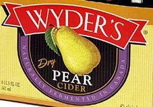 Wyder's Pear Cider 1/2 BBL