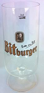 Bitburger .4 Pokal Glass