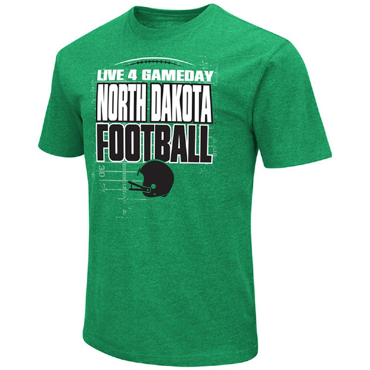 UNIVERSITY OF NORTH DAKOTA FOOTBALL LIVE 4 GAMEDAY TEE