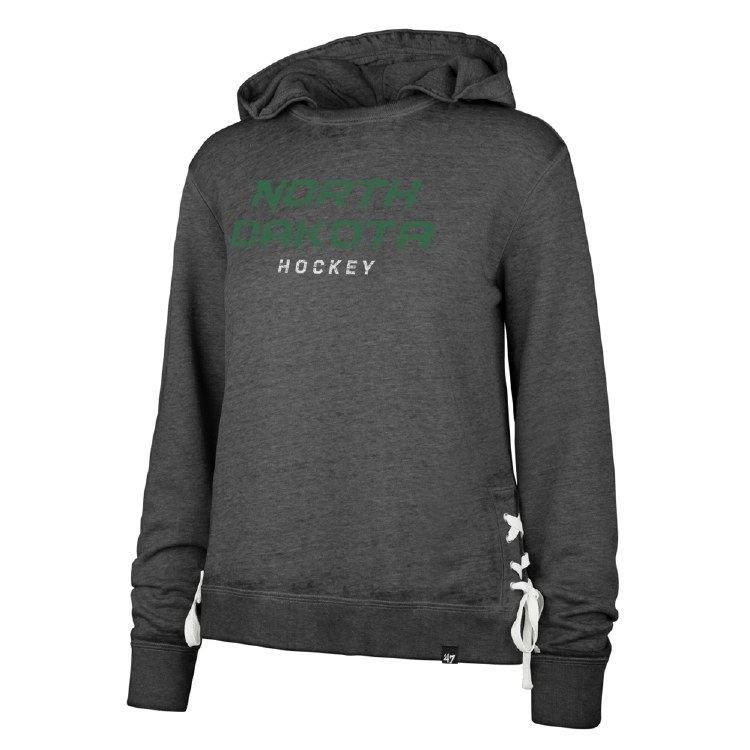 UNIVERSITY OF NORTH DAKOTA HOCKEY SIDE LACE PULLOVER