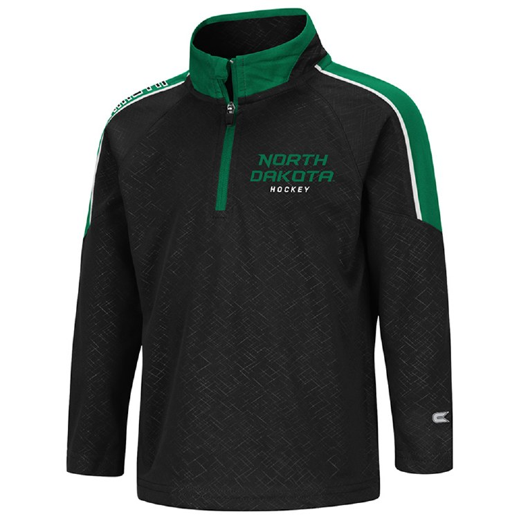 NORTH DAKOTA HOCKEY TODDLER BUSEN 1/4 ZIP