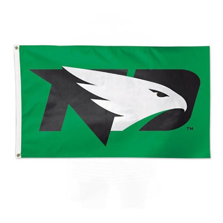 UNIVERSITY OF NORTH DAKOTA FIGHTING HAWKS 3X5 FLAG