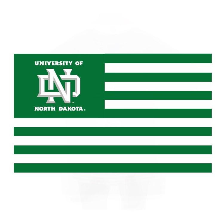 UNIVERSITY OF NORTH DAKOTA 3X5 FLAG - 'MERICA