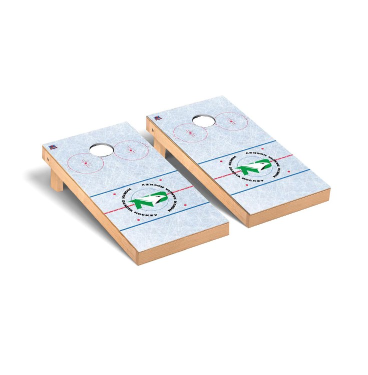 UNIVERSITY OF NORTH DAKOTA CORNHOLE GAME SET - HOCKEY VERSION