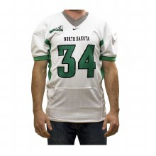 GAME WORN UNIVERSITY OF NORTH DAKOTA FOOTBALL JERSEY