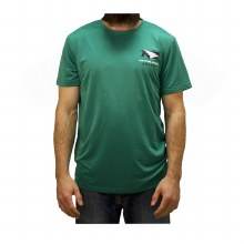 UNIVERSITY OF NORTH DAKOTA FIGHTING HAWKS HOCKEY POLY SPINE TEE