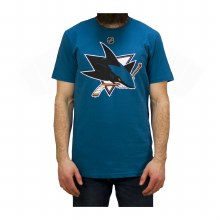 AARON DELL SAN JOSE SHARKS JERSEY TEE - ADULT