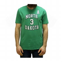 TUCKER POOLMAN UNIVERSITY OF NORTH DAKOTA HOCKEY PLAYER TEE - ADULT