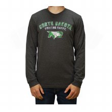 UNIVERSITY OF NORTH DAKOTA FIGHTING HAWKS BI-BLEND LONG SLEEVE TEE