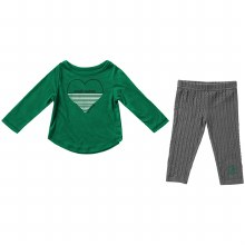 NORTH DAKOTA HOCKEY INFANT GIRLS SWEETUM SET