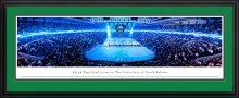 FIGHTING SIOUX HOCKEY V. MINNESOTA GOPHERS PANORAMIC DELUXE FRAMED PHOTO CAPTURED 1/14/12