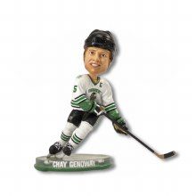 CHAY GENOWAY FIGHTING SIOUX BOBBLEHEAD