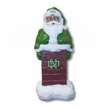 UNIVERSITY OF NORTH DAKOTA SANTA IN THE CHIMNEY