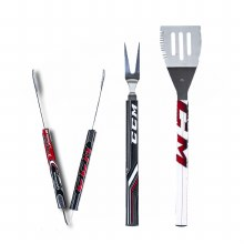 HOCKEY STICK BBQ TOOL SET