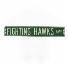 FIGHTING HAWKS AVE SIGN