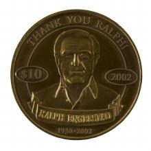 REA GOLD COLLECTOR COIN 2002