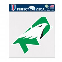 UNIVERSITY OF NORTH DAKOTA FIGHTING HAWKS 8X8 DECAL