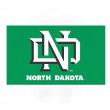 UNIVERSITY OF NORTH DAKOTA 3X5 FLAG - INTERLOCKING ND