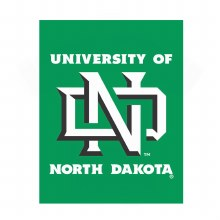 UNIVERSITY OF NORTH DAKOTA VERTICAL BANNER