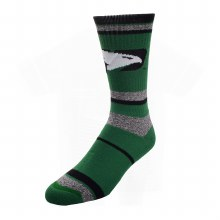 UNIVERSITY OF NORTH DAKOTA FIGHTING HAWKS MARBLE STRIPE SOCK