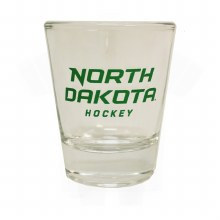 1.5OZ UNIVERSITY OF NORTH DAKOTA HOCKEY COLLECTOR GLASS