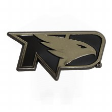 UNIVERSITY OF NORTH DAKOTA FIGHTING HAWKS AUTO EMBLEM