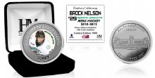 UNIVERSITY OF NORTH DAKOTA HOCKEY ALUMNI COLLECTOR COIN - BROCK NELSON