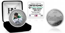 UNIVERSITY OF NORTH DAKOTA HOCKEY ALUMNI COLLECTOR COIN - CARTER ROWNEY