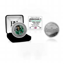 UNIVERSITY OF NORTH DAKOTA HOCKEY ALUMNI COLLECTOR COIN - JORDAN SCHMALTZ