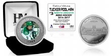 UNIVERSITY OF NORTH DAKOTA HOCKEY ALUMNI COLLECTOR COIN - TUCKER POOLMAN