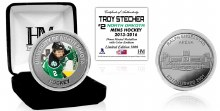UNIVERSITY OF NORTH DAKOTA HOCKEY ALUMNI COLLECTOR COIN - TROY STECHER