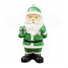 UNIVERSITY OF NORTH DAKOTA SANTA ORNAMENT