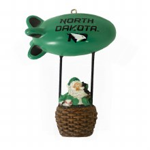 UNIVERSITY OF NORTH DAKOTA SANTA'S BLIMP ORNAMENT