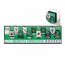 UNIVERSITY OF NORTH DAKOTA HOCKEY JERSEY EVOLUTION SIGN