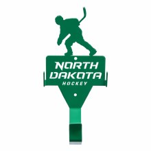 NORTH DAKOTA HOCKEY SINGLE WALL HOOK
