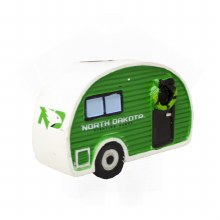 UNIVERSITY OF NORTH DAKOTA CAMPER ORNAMENT