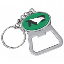 UNIVERSITY OF NORTH DAKOTA BOTTLE OPENER KEYCHAIN