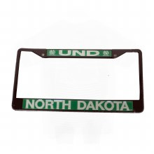 UNIVERSITY OF NORTH DAKOTA LICENSE PLATE FRAME