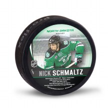 UNIVERSITY OF NORTH DAKOTA HOCKEY NICK SCHMLATZ ALUMNI PUCK