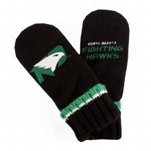 UNIVERSITY OF NORTH DAKOTA FIGHTING HAWKS ADULT MITTENS