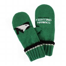 UNIVERSITY OF NORTH DAKOTA FIGHTING HAWKS YOUTH MITTENS