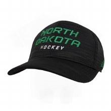 UNIVERSITY OF NORTH DAKOTA HOCKEY BLACK SPAN HAT
