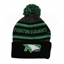 UNIVERSITY OF NORTH DAKOTA FIGHTING HAWKS AVALANCHE POM TOQUE