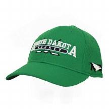 UNIVERSITY OF NORTH DAKOTA ADIDAS STICKS STRUCTURE FLEX HAT