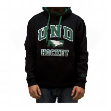 UNIVERSITY OF NORTH DAKOTA FIGHTING HAWKS HOCKEY POP ARCH HOOD