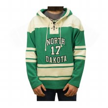 TYSON JOST UNIVERSITY OF NORTH DAKOTA HOCKEY LACER HOOD