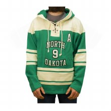 DRAKE CAGGIULA UNIVERSITY OF NORTH DAKOTA HOCKEY LACER HOOD