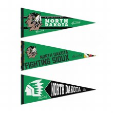UNIVERSITY OF NORTH DAKOTA FIGHTING SIOUX 3-PACK PENNANT SET
