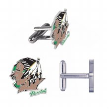 UNIVERSITY OF NORTH DAKOTA FIGHTING SIOUX CUFFLINKS