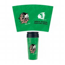 UNIVERSITY OF NORTH DAKOTA FIGHTING SIOUX TRAVEL MUG